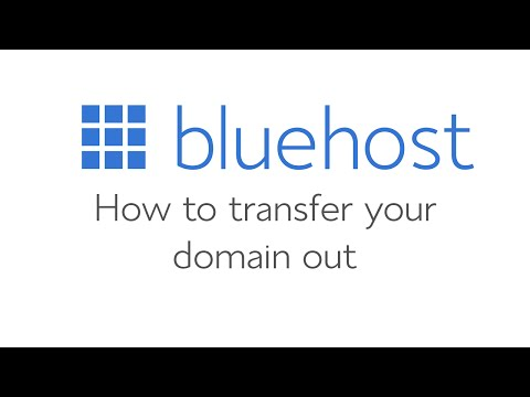 How to transfer a domain out of Bluehost