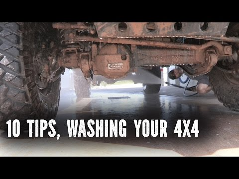 Washing your 4x4 vehicle 10 Tips