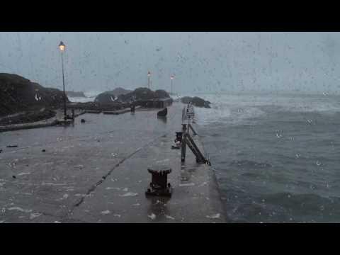 Ocean Storm Sounds for Sleep or Study | Loud Thunder, Waves, Howling Wind & Heavy Rain | Stormy Sea