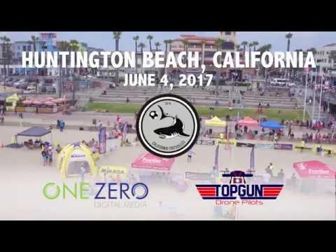 Top Gun Drone PIlots - California Footvolley Tournament 2017 - Highlight Video