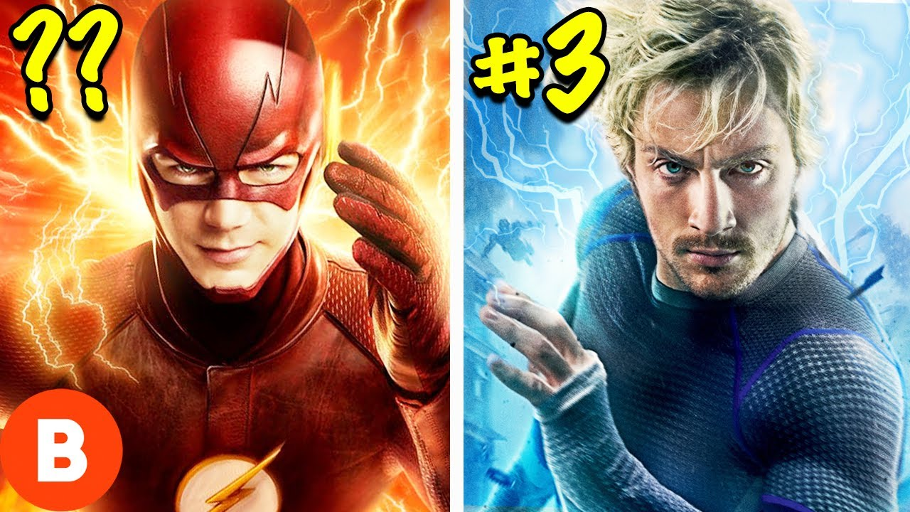 The Fastest Speedster Superheroes Ranked (From The Flash To Marvel)