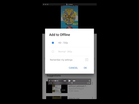 How to Save Youtube Videos to Watch Offline on iPhone iPod and iPad [ Youtube Official ]