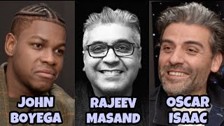 Oscar Isaac & John Boyega interview with Rajeev Masand I Star Wars: The Rise of Skywalker