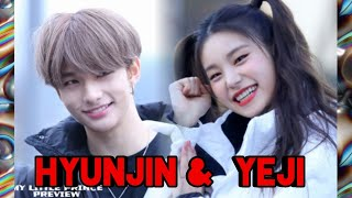 Download ( ITZY - STRAY KIDS) Hyunjin & Yeji moment Video