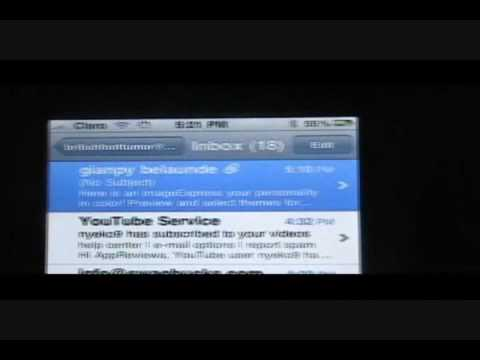 How to save and view e-mail attachments using iPhone or iPod touch