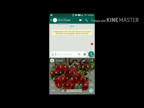 Change fonts of whatsapp chat in easiest way no trick no app no root