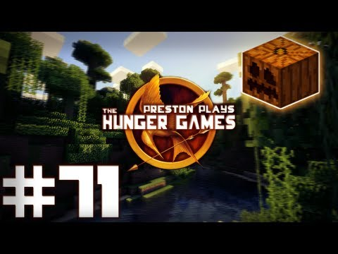 PUMPKIN FIST FIGHT! - Minecraft: Hunger Games w/Preston, Deadlox & Bodil40 #71