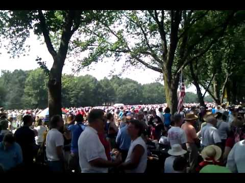 Amazing crowd at Restoring Honor Rally