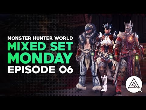 Mixed Set Monday #06 | Dragon Attack Set, Blast SnS & Paralysis Insect Glaive