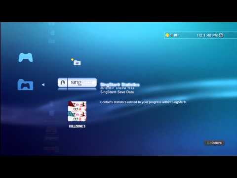 How to Delete Game Data and Save Data on your PlayStation 3