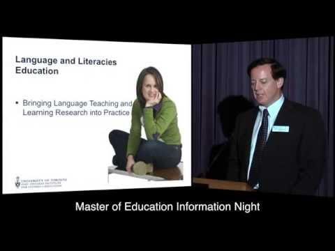 OISE Master of Education Information Night