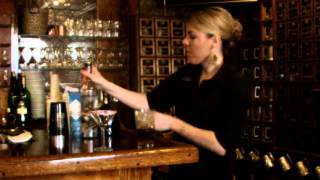 From the tavern of the Olde Bryan Inn, Shaundra shows you how to make her Sweetie-tini cocktail for your special someone for Valentine