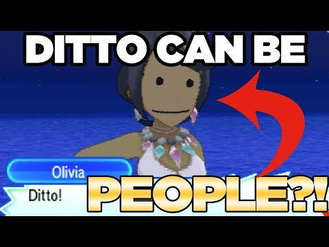 DITTO TRANSFORM INTO PEOPLE in Pokemon Ultra Sun and Moon! | Austin John Plays