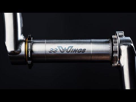 Introducing eeWings - Titanium Mountain Bike Cranks