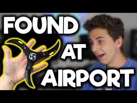 Craziest Things Found at Airport