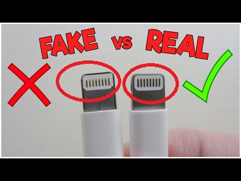 How To Tell If Your Apple Lightning Cable Charger Is Real or Fake