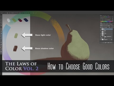 How to Choose Good Colors in Photoshop
