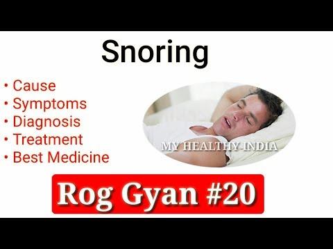 Rog Gyan #20 - Snoring Causes, Symptoms, Diagnosis & Treatment