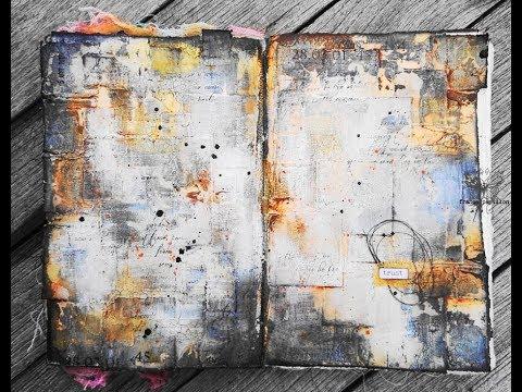 'Trust'... art journaling