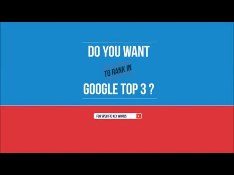 How To Rank In Google TOP 3?