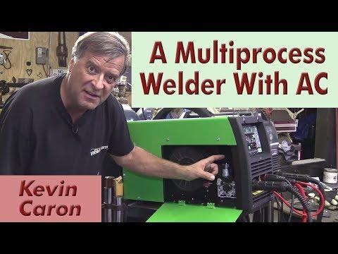 Introducing the Everlast 221STi Multiprocess AC / DC Welder - Kevin Caron