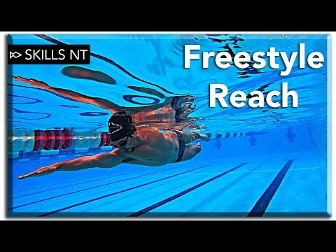 Swim smoother and Improve your freestyle technique with a good reach