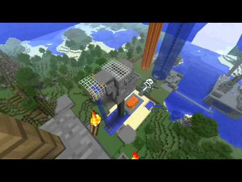 Minecraft - Diving Board