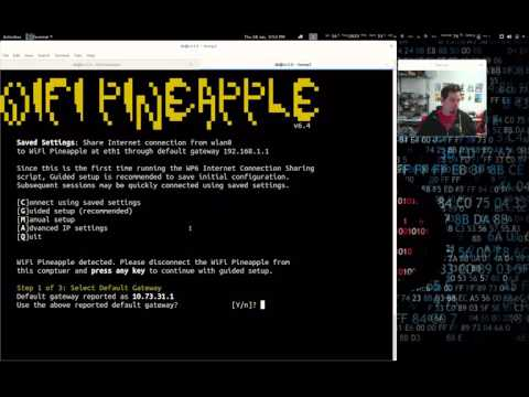 New Linux Connection Manager for WiFi Pineapple