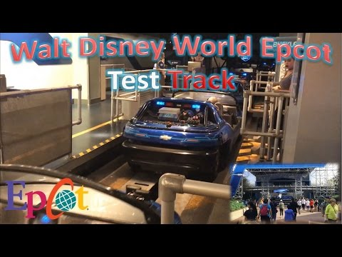 Disney Epcot Test Track Ride