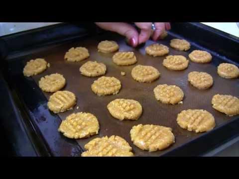 Peanut Butter Cookie Bites - Gluten Free & Sugar Free
