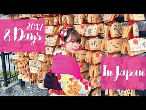 Japan Winter Trip 2017! Osaka, Kyoto, Tokyo, Disneyland, Mount Fuji, Karuizawa