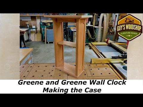 Greene And Greene Wall Clock - Making the Case Pt 1