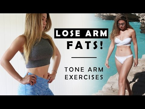 How To Lose Arm Fat | Toned Arms Workout