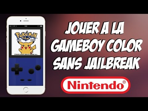 [TUTO] Jouer à la GameBoy Color sur son iPhone / iPod Touch et iPad (SANS JAILBREAK)