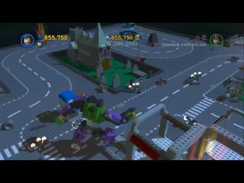 LEGO Batman 2 - LEGO Gotham City 1,000,000 Stud Challenge & Gold Brick