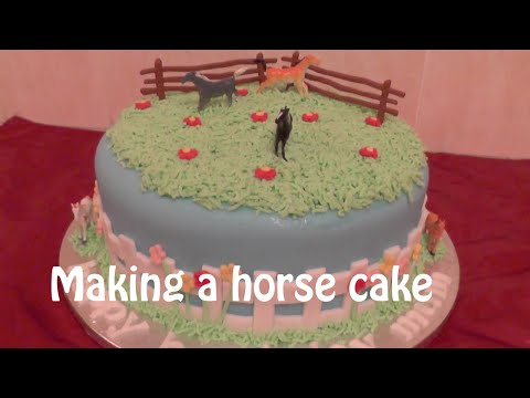 How to make a Horse Cake - Animal Cakes