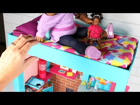 DIY American Girl Bed