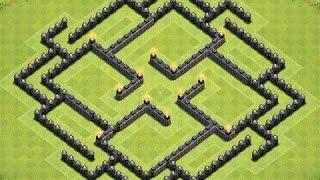 #x202b;افضل 3 تصاميم تاون هول لفل 8 -  كلاش اوف كلانس#x202c;lrm;