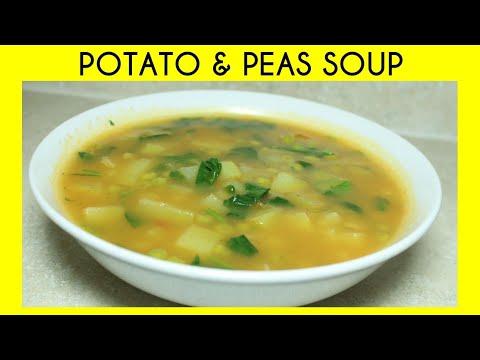 POTATO & PEAS SOUP