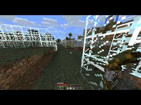 Minecraft - chicken farm and arrow making
