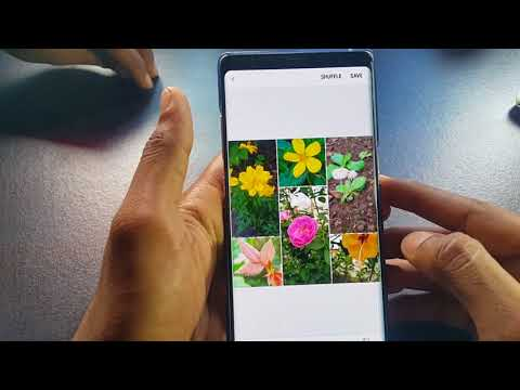 How to Create a Photo Collage in Samsung Galaxy Note 8/S8/S8+