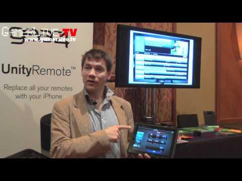 CTIA: First Look - Gear4 Demos Cool UnityRemote iPad/iPhone Universal Remote App with 360 Degree IR