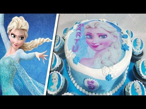 PASTEL DE FROZEN Paso a Paso❄️  HOW TO MAKE a FROZEN Cake !