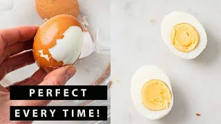 How To Make Perfect Hard Boiled Eggs That Are Easy To Peel