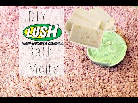 DIY Lush Bath Melts!