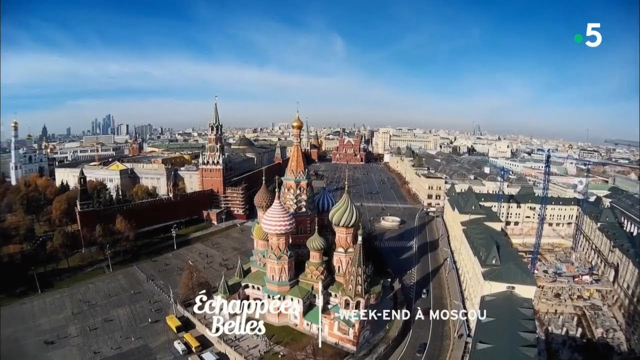 Week-end à Moscou - Échappées belles