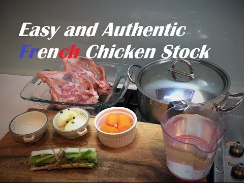 How to to make a Chicken Stock from scratch