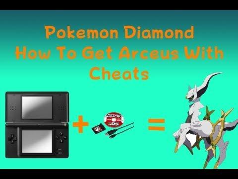 Pokemon Diamond How To Get Arceus With Cheats
