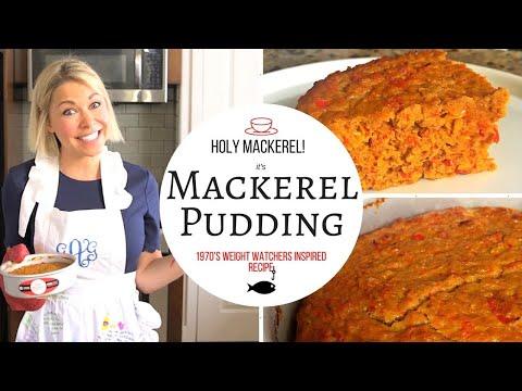 Taste Test Challenge: Weight Watchers 1970s Style... Mackerel Pudding