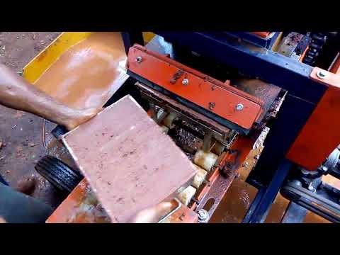 Mini Box Type Clay Bricking Machine